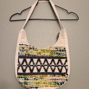 🌵Canvas embroidered tote bag